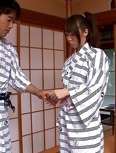 Hitomi Oki - Alluring Hitomi Oki enjoys a lot of toys in her pussy - Screenshot 1