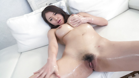 Japan cum on babe\s huge melons and face