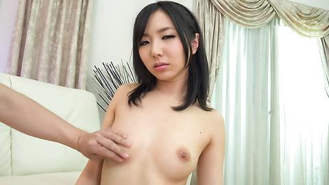 Ayumu Ishihara - Brunette beauty amazes with pure Japan blow job - Picture 7