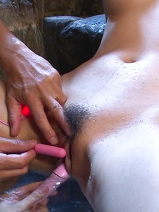 Reira Aisaki - Superb Japanese cum girl enjoys toys in her twat  - Screenshot 12