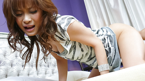 Misa Kikouden - Hot asian blowjobs from Misa Kikouden gets her laid - Picture 12