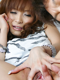 Misa Kikouden - Hot asian blowjobs from Misa Kikouden gets her laid - Picture 4