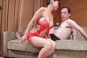 Top rated Asian babe, amazing Asian blowjob on two cocks  Photo 6