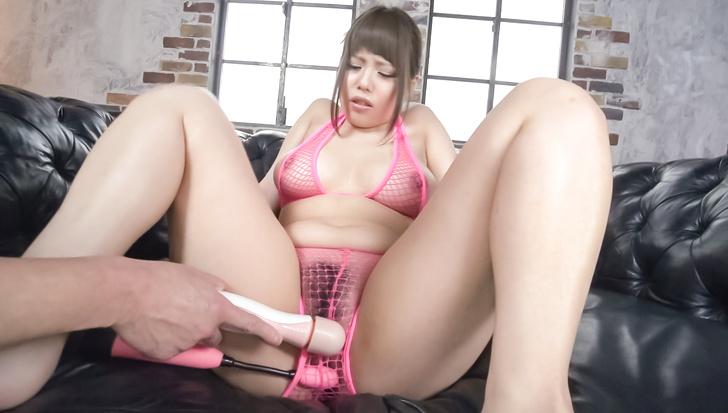 Cum on tits for big tittied Japanese babeRion Nishikawa