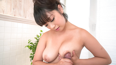 POV Japan blow job with superb Wakaba Onoue