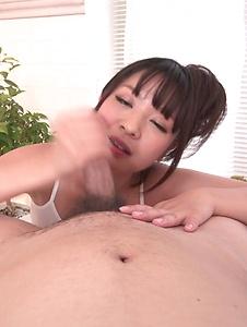 Wakaba Onoue - POV Japan blow job with superbWakaba Onoue - Screenshot 12