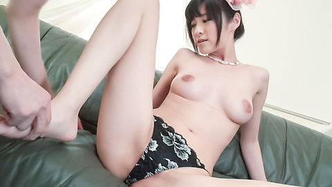 Sara Yurikawa - Asian blow job along superb Sara Yurikawa - Picture 11