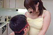 Strong Asian blowjob scenes by Yui Sakura Photo 9