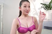 Busty Tsubasa Takanashi throats the cocks in amazing modes  Photo 2