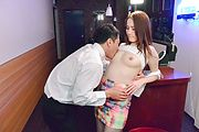 Brunette beauty in Asian stockings hard fuck in special scenes  Photo 3