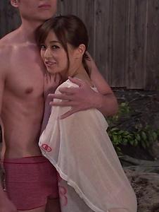 Saya Niiyama - Asian blowjob leads Saya Niiyama to swallow  - Screenshot 3
