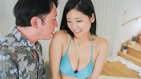 黒木澪 - 爆乳美女イキ過ぎお掃除フェラ~黒木澪 - Picture 3