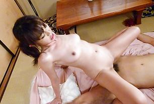 Innocent Looking Teen Marika Takes A Naughty Creampie