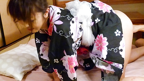 Marika - Marika's japan girl blowjob ends in a pussy creampie - Picture 12