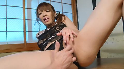 Hina Misaki - ญี่ปุ่นชักว่าวโชว์ด้านบนร้อนรึเปล่า ฮินะ มิซากิ -  8 รูปภาพ