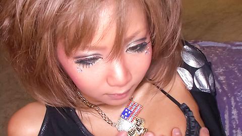 Riku Hinano - Ayam lapar Asia sayang busty membelai dan mendapatkan kacau jauh di dalam dia merenggut bersemangat - gambar 3