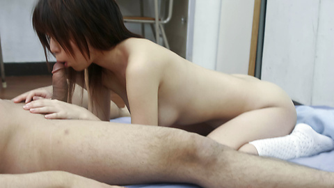 Nana Kurosaki - Sexy Airi Nakajima in socks only is screwed - Picture 2