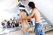 Mahiru Tsubaki sexy body swarmed by vibrators Photo 1