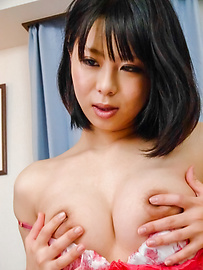 Mikan Kururugi - Asian giving blowjob in really hot scenes  - Picture 3