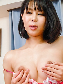 Mikan Kururugi - Asian giving blowjob in really hot scenes  - Picture 4