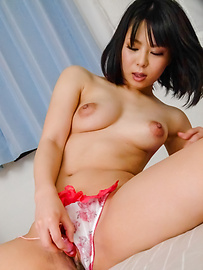Mikan Kururugi - Asian giving blowjob in really hot scenes  - Picture 8