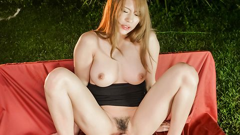 Japanese insertion for sleazy Nami Itoshino