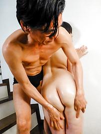 Rie Tachikawa - 弯曲的反应离子刻蚀立川惊奇与亚洲口交 - 图片 10