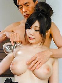 Rie Tachikawa - 弯曲的反应离子刻蚀立川惊奇与亚洲口交 - 图片 1