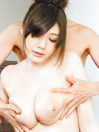 Rie Tachikawa - 弯曲的反应离子刻蚀立川惊奇与亚洲口交 - 图片 4