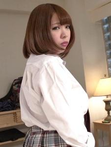Meru Ayase - Hot schoolgirl plays with cock in nasty ways - Screenshot 3