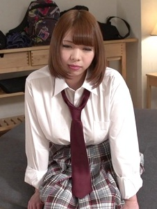 Meru Ayase - Hot schoolgirl plays with cock in nasty ways - Screenshot 4