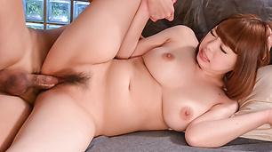 Hot schoolgirl plays with cock in nasty ways