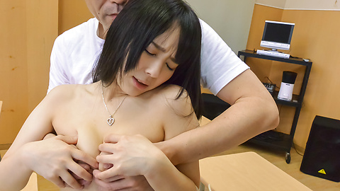 Ruka Kanae - Young Ruka Kanae gets nasty on tasty dick at school - Picture 8