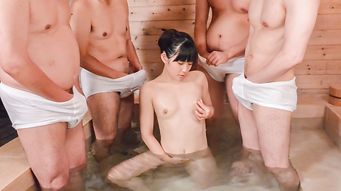 Yui Kasugano - Asian blowjobs along skinny babe Yui Kasugano  - Picture 9