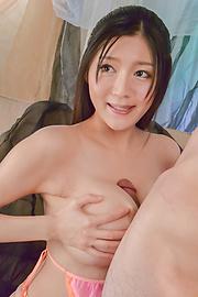 Miho Ichiki - 栎木美穗丰满获取 jizzed 脸上后顽皮口腔 - 图片 5