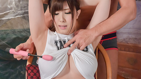 Mizuki Akai - dirty milf enjoys Asian dildos up her wte holes  - Picture 10