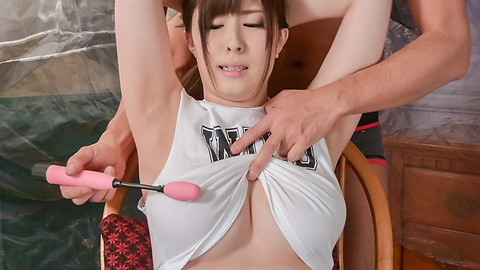 Mizuki Akai - dirty milf enjoys Asian dildos up her wte holes  - Picture 8