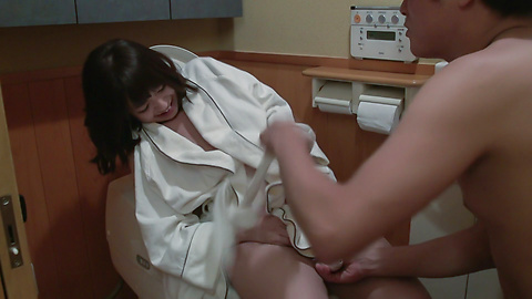 Wakaba Onoue - Japanese insertion with busty Wakaba Onoue  - Picture 1