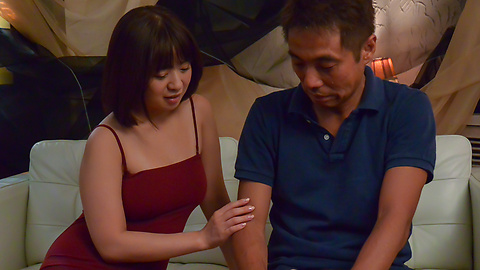 Wakaba Onoue - Superb Wakaba Onoue gives top Asian blowjob  - Picture 10