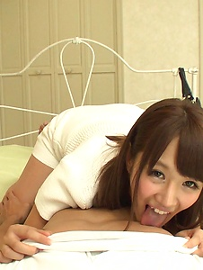 Konoha Kasukabe - Asian creampie to end babe's amazing hardcore play  - Screenshot 8