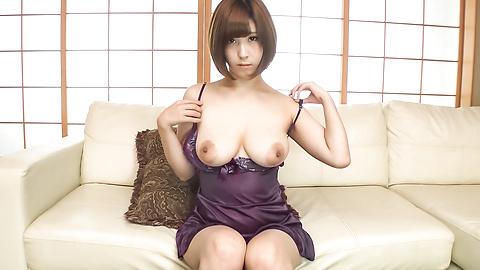 Honoka Orihara - Honoka Orihara uses Japanese vibrator on her pussy  - Picture 5
