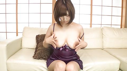 Honoka Orihara - Honoka Orihara uses Japanese vibrator on her pussy  - Picture 7