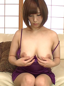 Honoka Orihara - Honoka Orihara uses Japanese vibrator on her pussy  - Screenshot 8