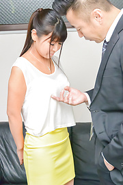 Yu Shinohara - Yu Shinohara enjoys rough office sex with her boss  - Picture 2