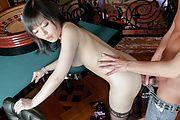 Japanese av model  Hikaru Kirameki fucked in hardcore Photo 12