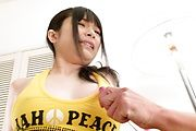 Strong masturbation show for big tits girl Hina Maeda  Photo 5