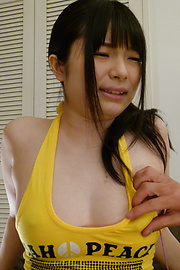 Hina Maeda - Hina Maeda squirts from her pussy from a japanese dildo - Picture 7