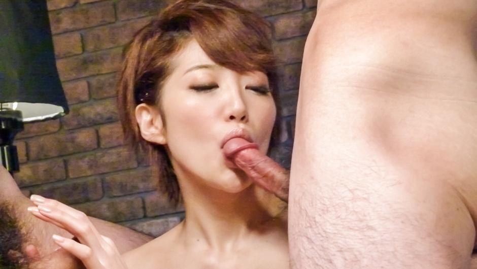 Dazzling Asian blowjob by slimMakoto Yuukia