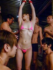 Saori - ภาพยนตร์เพศ Bondage ญี่ปุ่นเงี่ยนมั้ยซาโอริรึเปล่า -  1 รูปภาพ
