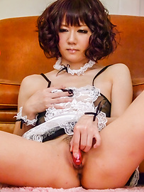 Yurika Miyachi - Raunchy beauty enjoys giving a blowie on a hard rod - Picture 10
